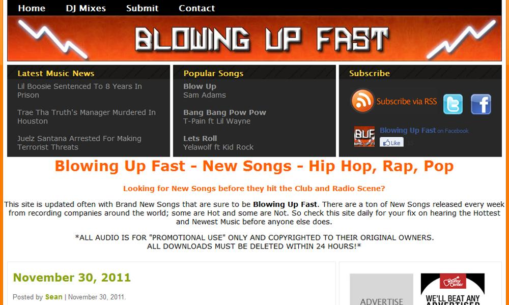 BlowingUpFast.com