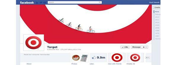 Target New Facebook Timeline
