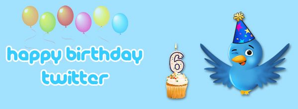 Twitter Sixth Birthday
