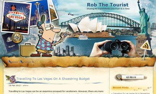 RobTheTourist.com
