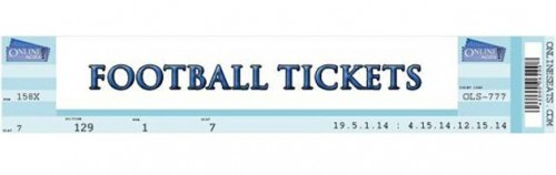 Online Seats Ticket Banner
